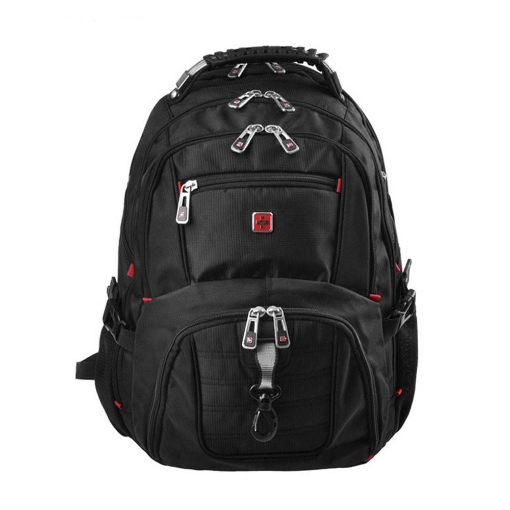 Waterproof Travel Laptop Backpack Computer Notebook School Bag 15.5in