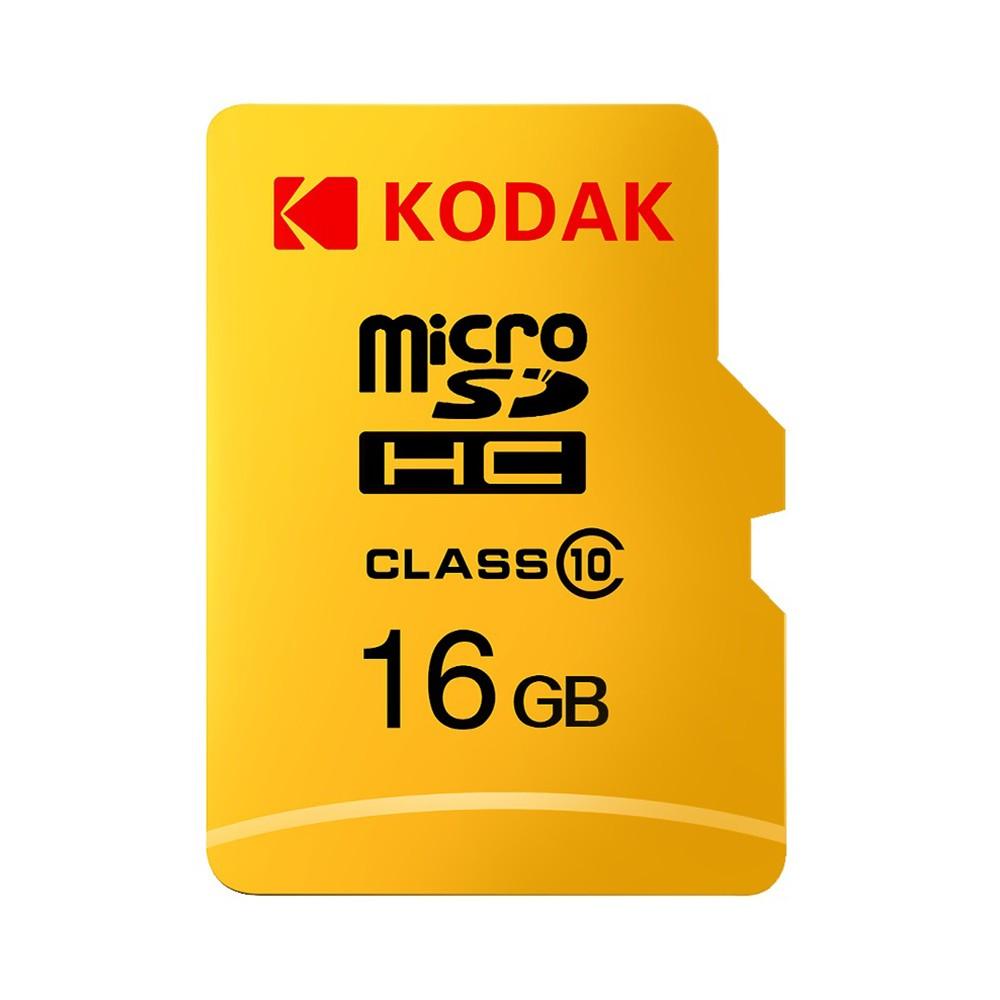 Kodak Micro SD Card 16GB TF Card Class10 C10 U1 Memory Card Fast Speed