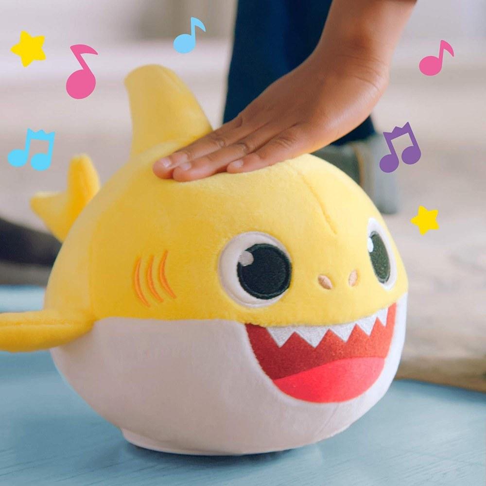 Baby Shark Singing Dancing Doll Stuffed Plush Toy Birthday New Year Gift for Kids