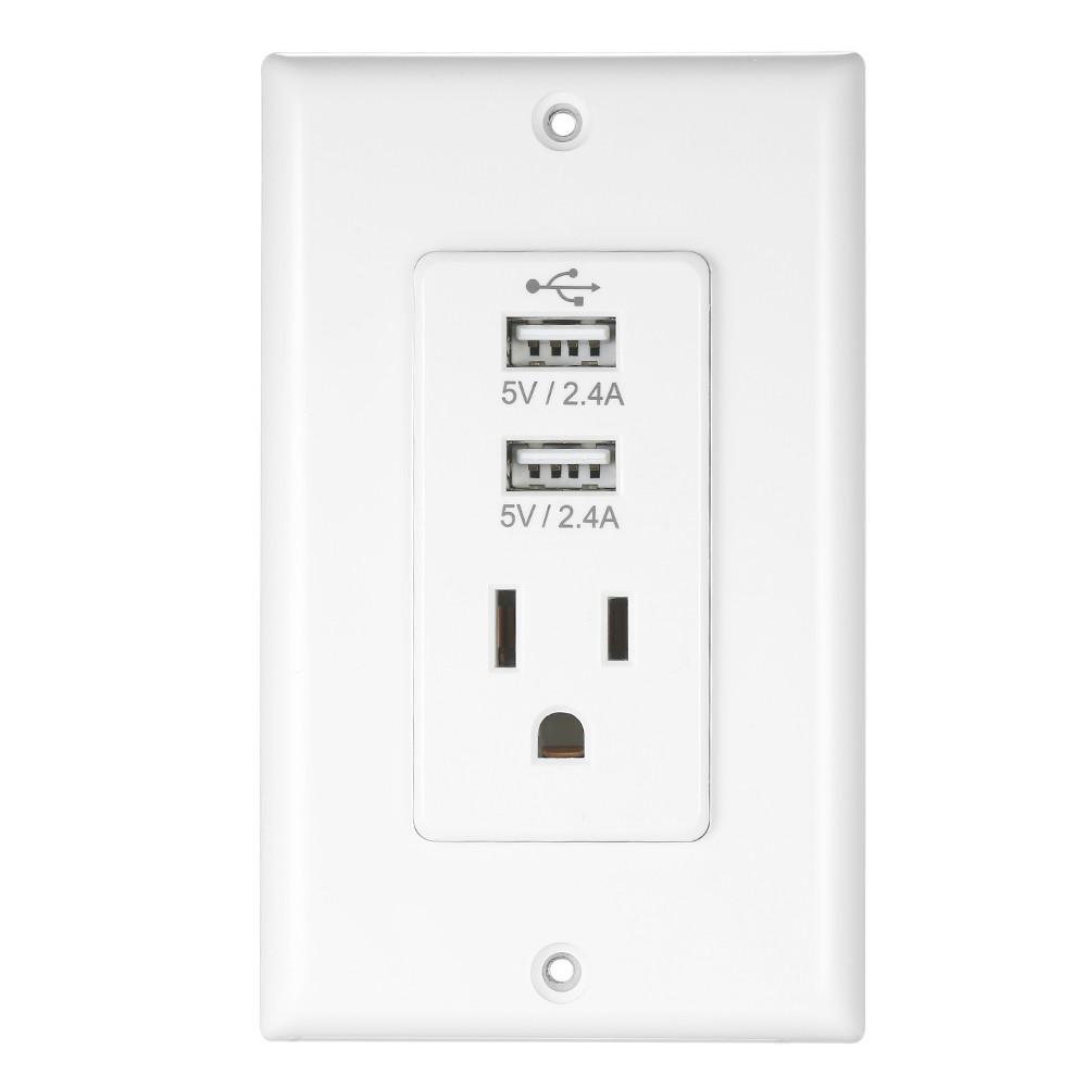 Wireless Home Plug Socket Adaptor Plug with USB Interface
