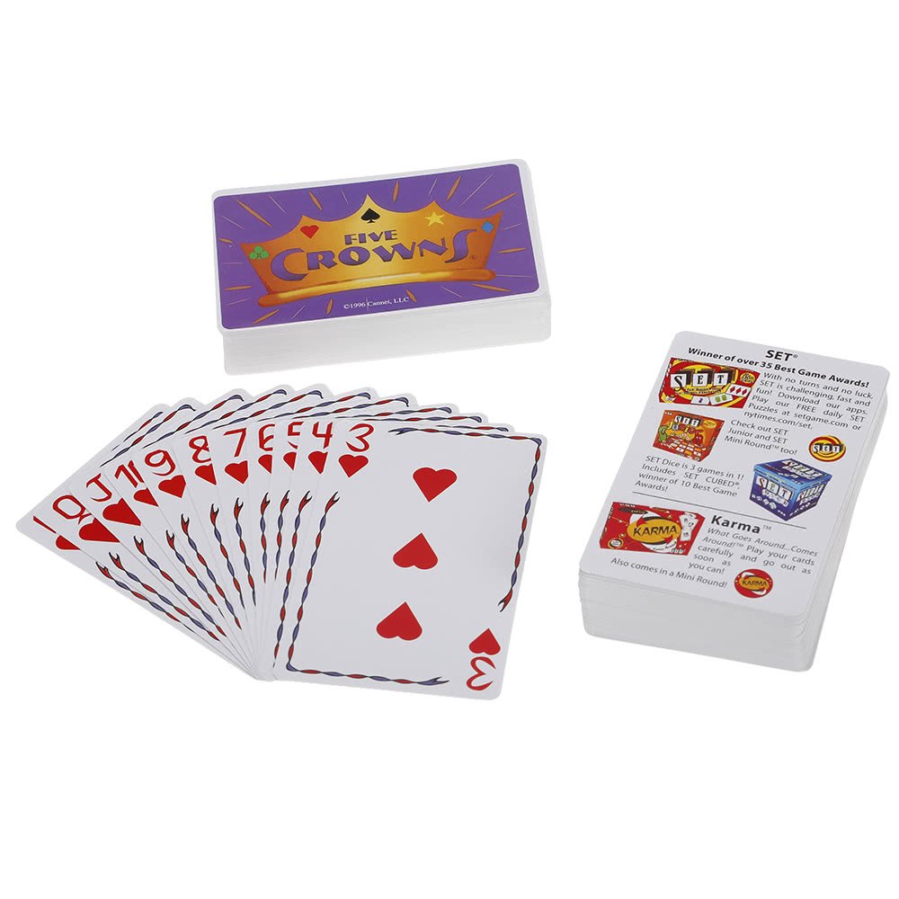 Five Crowns Card Game Party Play Cards