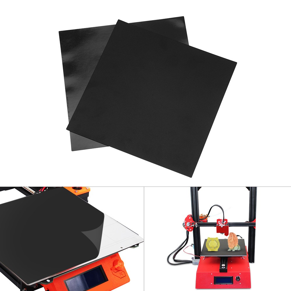 3D Printer 200*200mm Build Plate Print Bed Tape Sheet Magnetic Heat Bed Square Sticker Set