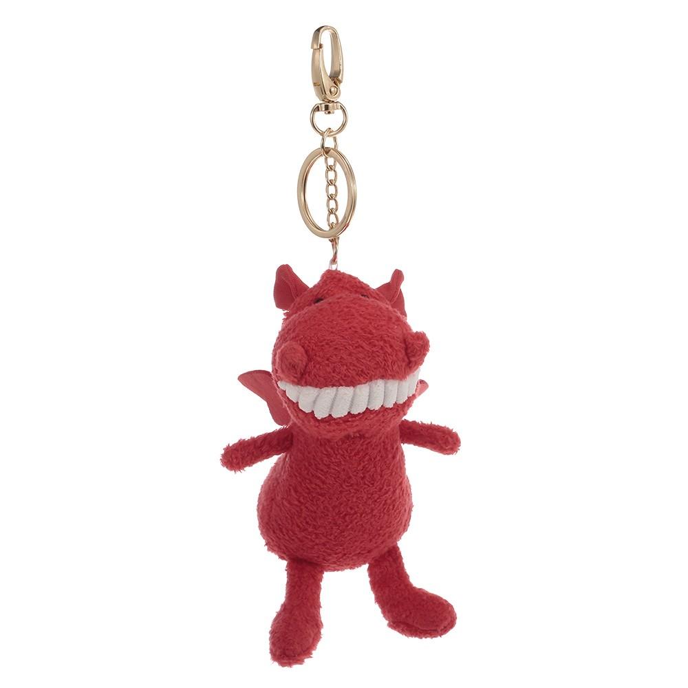 Plush Pendant Animal Keychain Stuffed Dragon Animal Ornaments Gift for Kids Friends