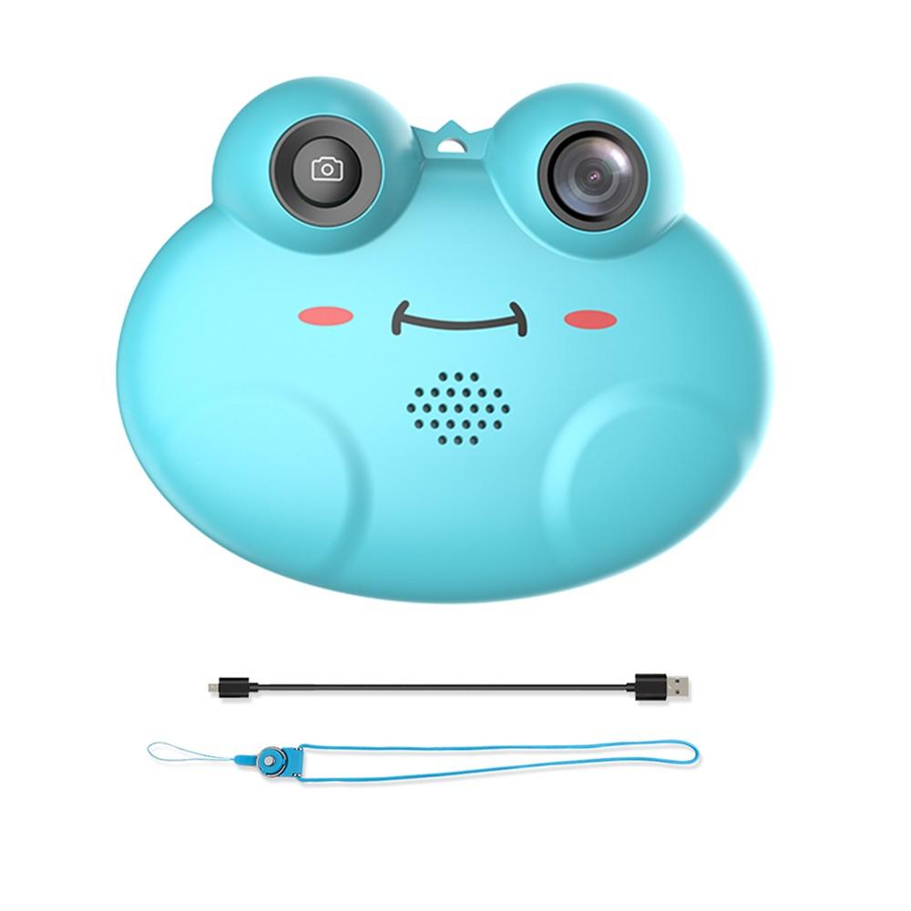 Cute Cartoon Frog Shape Mini Kids Digital Video Camera