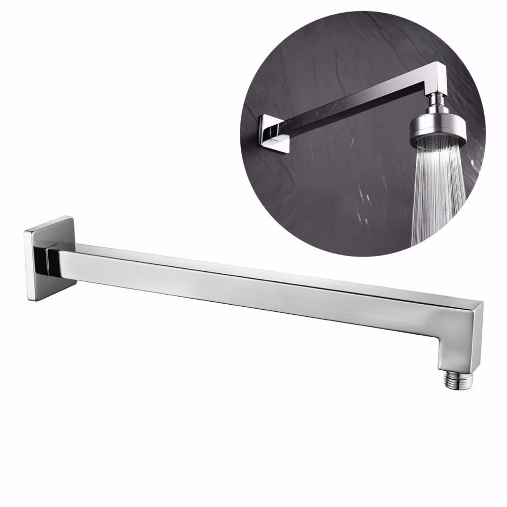 Bathroom shower arm - silver