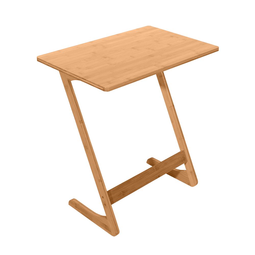 楠竹沙发懒人桌Z型 60x40x65cm