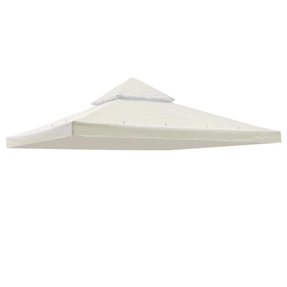 10 Ft. x 10 Ft. Gazebo Top Replacement Canopy 2-Tier