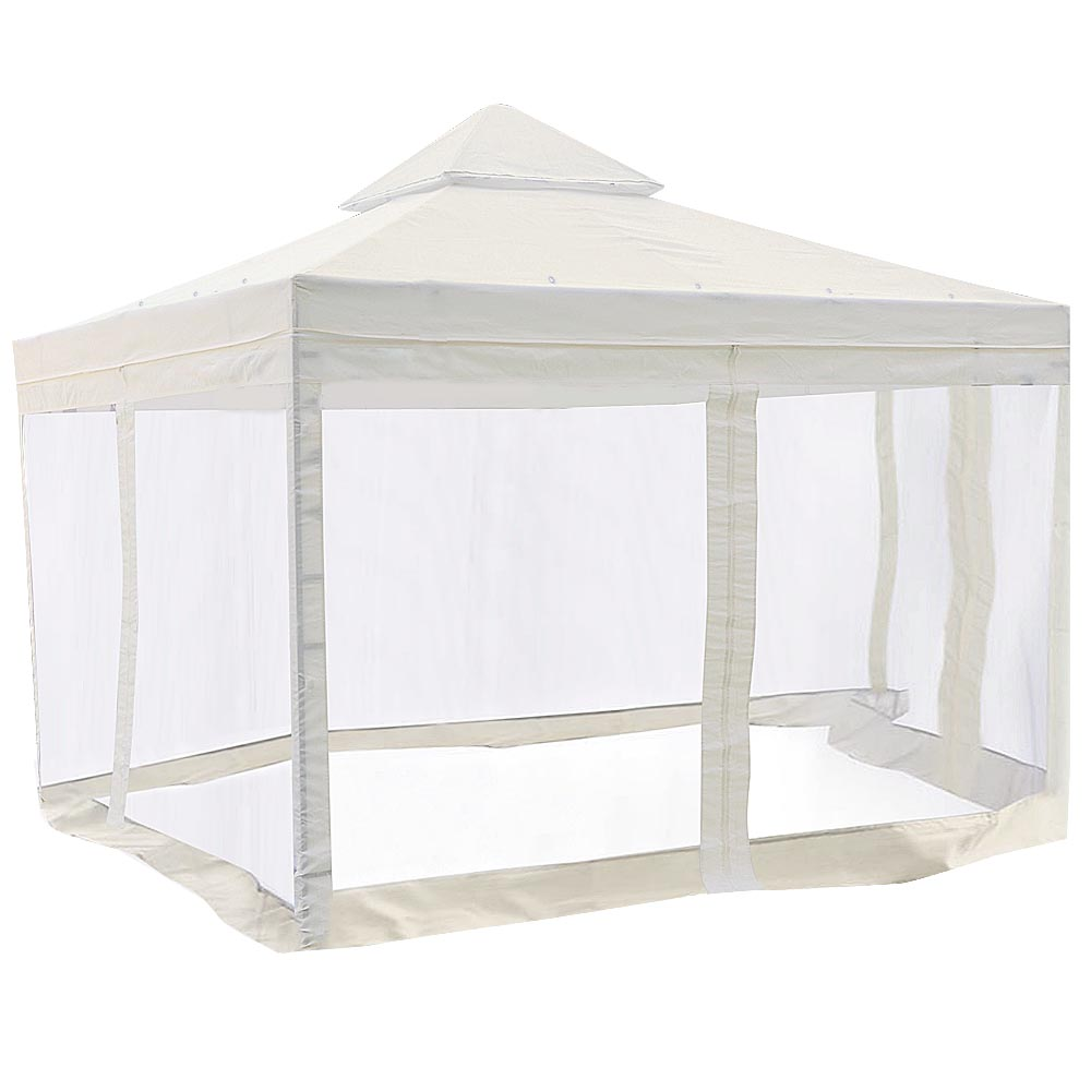10 Ft. x 10 Ft. Ivory Canopy Top Replacement with Net
