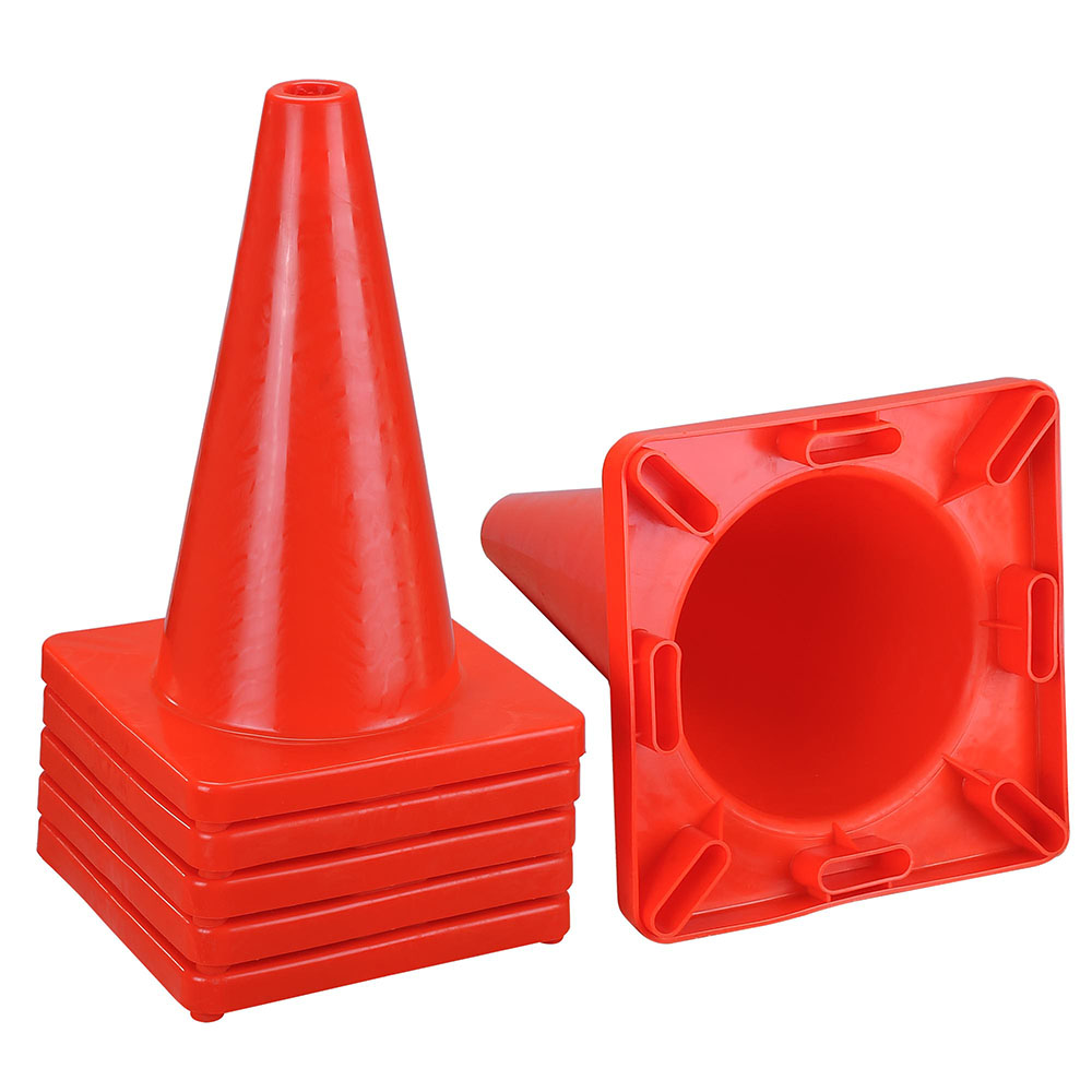 18 In Traffic Safety Cones - 6 PCS