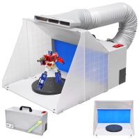 Airbrush Spray Booth Portable with Hose