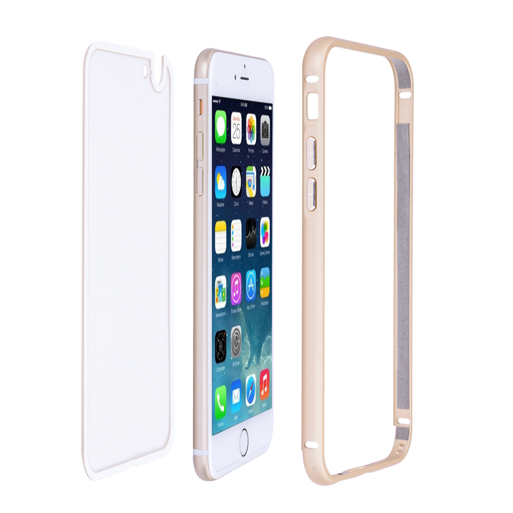 Ultra-thin IPHONE 5 Case Gold Frame