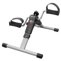 Folding Arm Leg Pedal Exerciser Portable Mini Exercise Bike Resistance with LCD