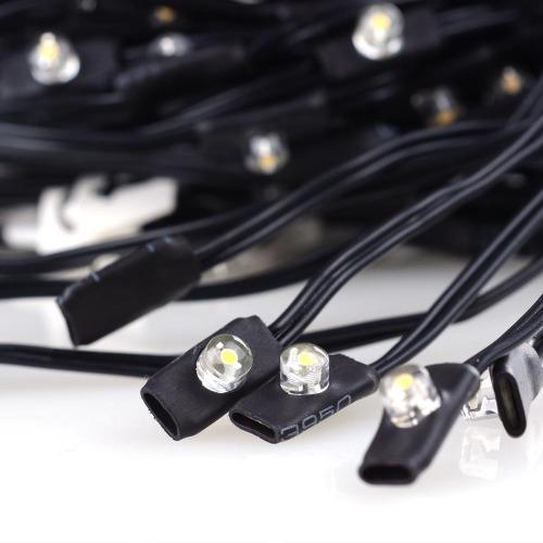 40 LEDs Solar String Light Cool White For 8 9 8rib WD Umb