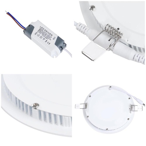 18W LED Ceiling Light Round Warm White