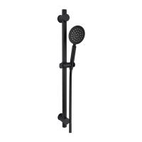 Black bracket shower set