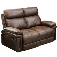 ORIS FUR. Loveseat Leather Sectional Sofa Reclining Sofa Couch Recliner Chair Leather Accent Chair Set for Living Room