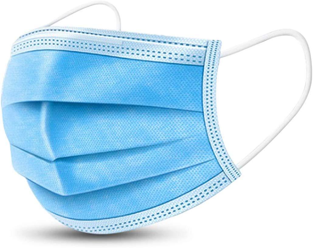 20 Pcs Disposable Filter Masks  Ply Earloop Breathability Comfort Beauty Medical Dust Masks in Stock (20 Pcs Masks(Blue))