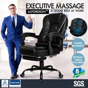 A-OCH-MASG-FT ALFORDSON Massage Office Chair - Black