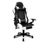 ALFORDSON Gaming Chair Office Chair - Black & White