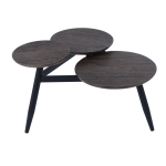 BIEL-LMKZ Coffee Table - Dark Wooden Colour
