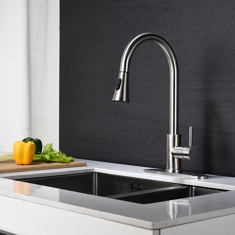 Bathroom basin faucet - Brush Nickel
