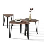 KAUWHATA-MDF-JY 1 Set Coffee Table - Wooden Colour