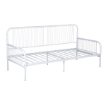 LINE-WARWICK-W Day Bed Metal Bed Frame - White