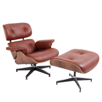 TY-305A Leisure Unfordable Lounge Chair- Red