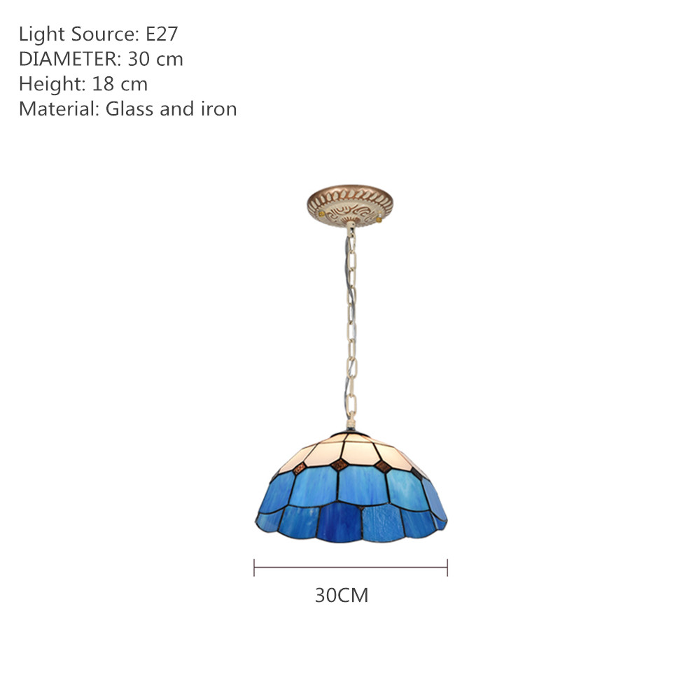 【SEA】Louis Comfort Tiffany Chandelier, dining room chandelier, dining room lamp