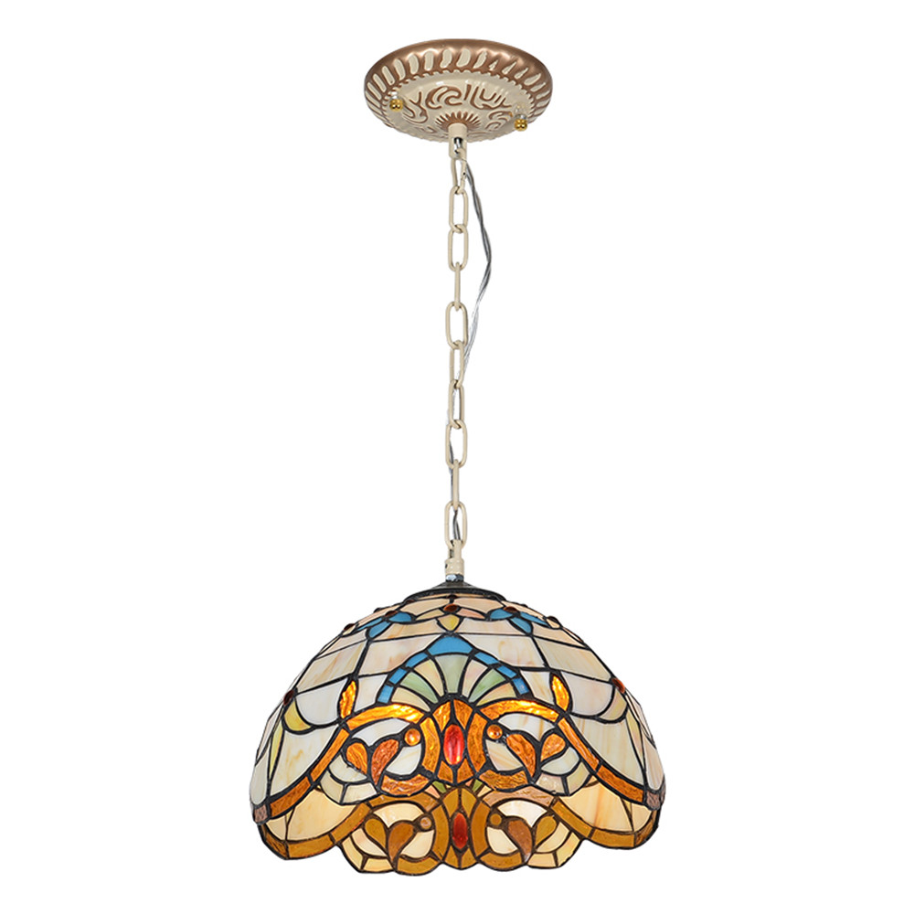 【SEA】Louis Comfort Tiffany Chandelier, dining room chandelier, dining room lamp