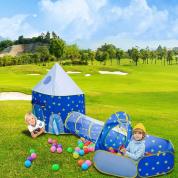 三件套游戏帐篷儿童游戏帐篷胶囊蒙古包儿童游戏帐篷太空舱蒙古包