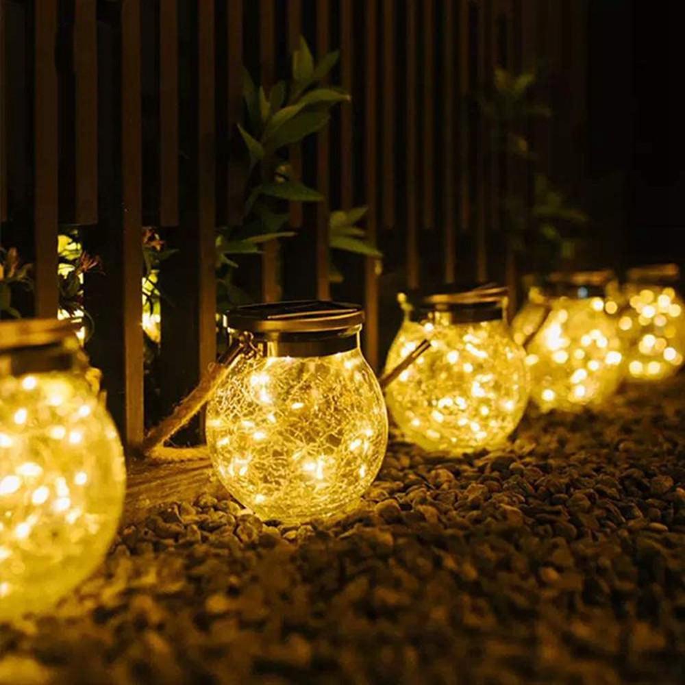 【SEA】Solar hanging lights, solar courtyard lights, solar lights