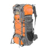 【ZYQS】Camping Survivals 60L户外防水双肩运动包/登山包(实际容量是55L) 型号:SA008 颜色: 橙色