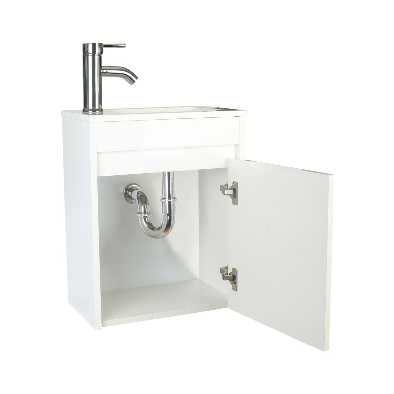 浴室柜洗脸盆组合白色