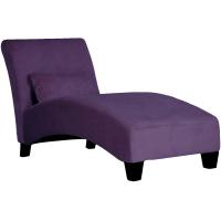 贵妃椅 躺椅 wayfair爆款沙发躺椅休闲椅 - 紫色