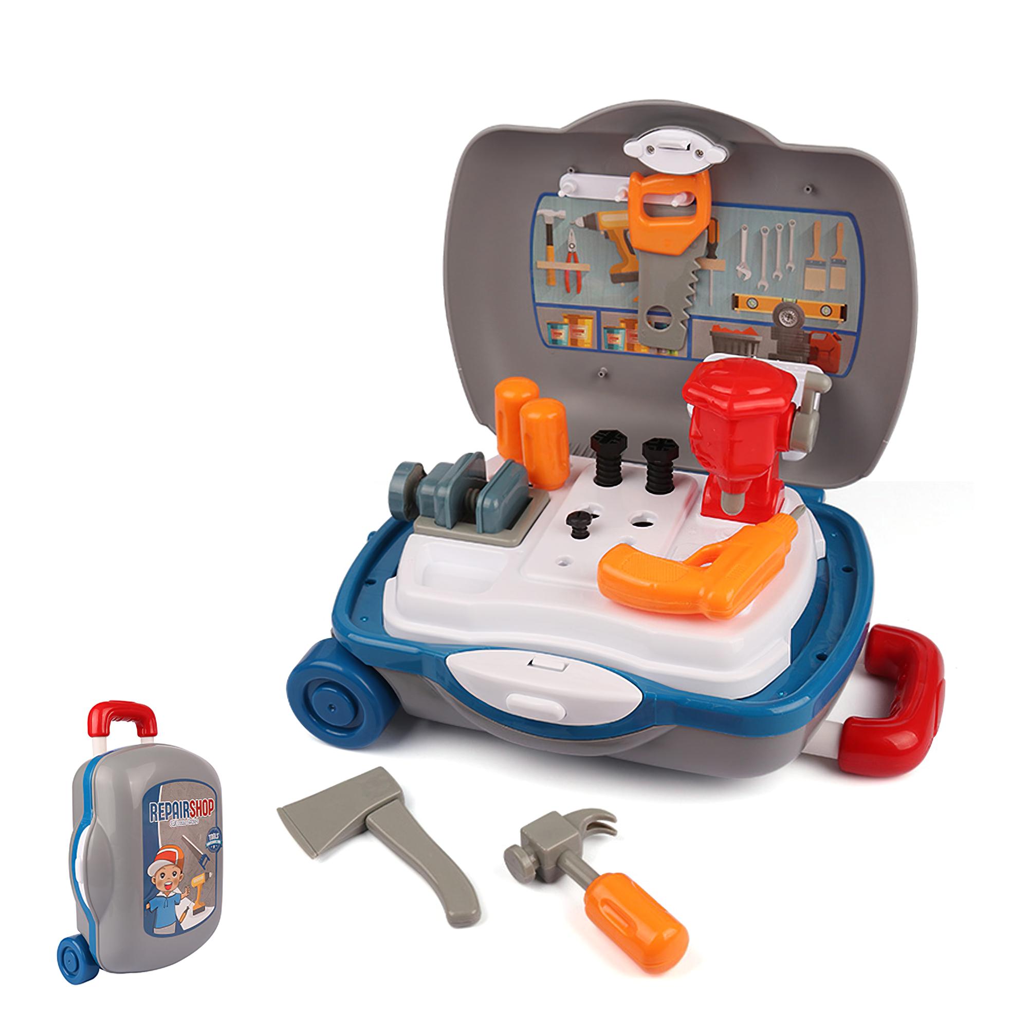 儿童玩具推车工具箱