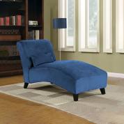 贵妃椅 躺椅 wayfair爆款沙发躺椅休闲椅 - 蓝色