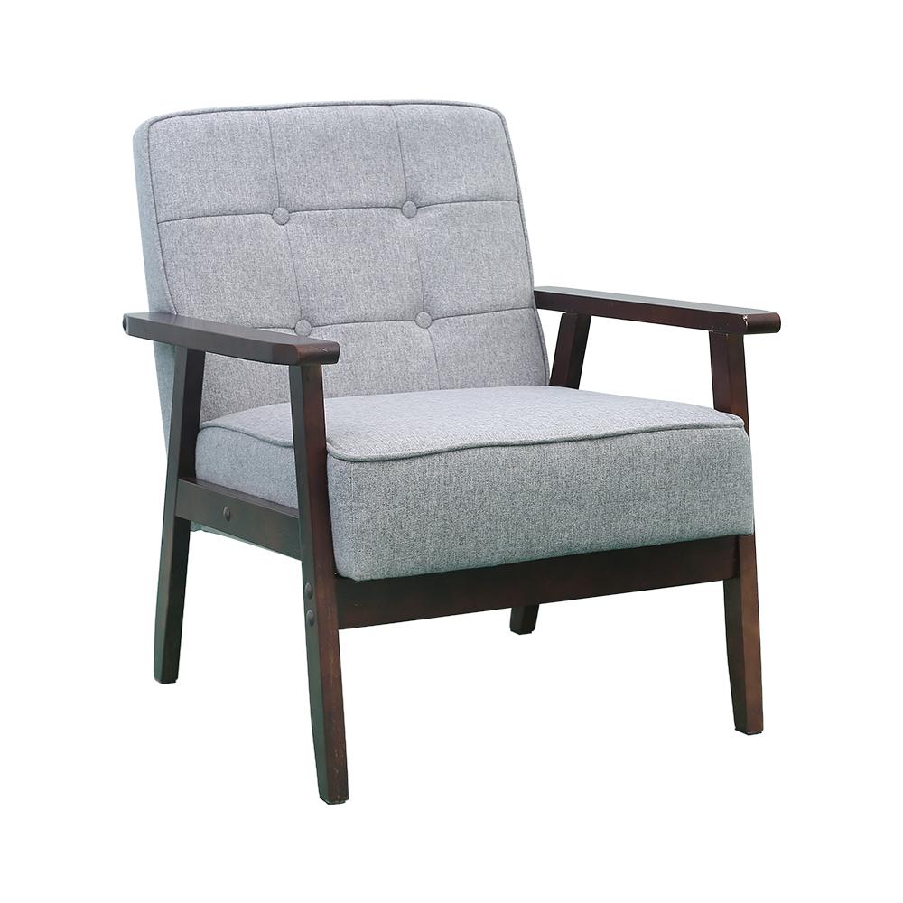 木制单人沙发 HM-SP01GY