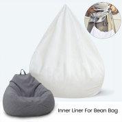 防水懒豆袋沙发套内衬(不包括填充)适用于豆袋套填充动物玩具
