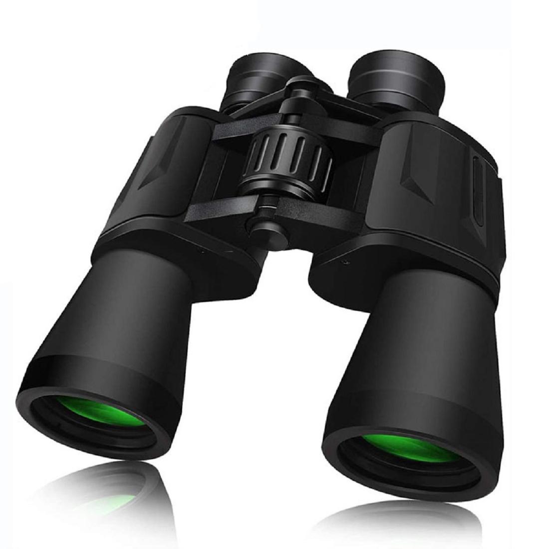 20X50变焦高清日视双筒望远镜,便携式防水折叠双筒望远镜,具有清晰的微光夜视