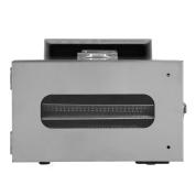 食品脱水机-数字可调定时器 温度控制 保温功能 干燥干,香草,肉,牛肉,水果和干燥蔬菜  6不锈钢托盘