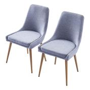 两把扶手椅子灰色