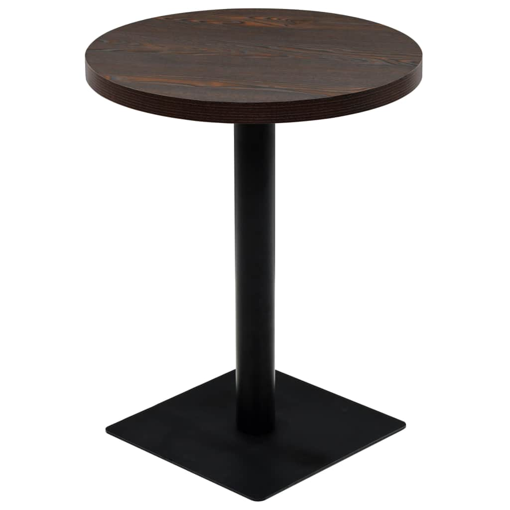 Bistro Table MDF and Steel Round 23.6