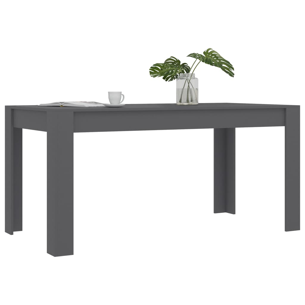 Dining Table Gray 63