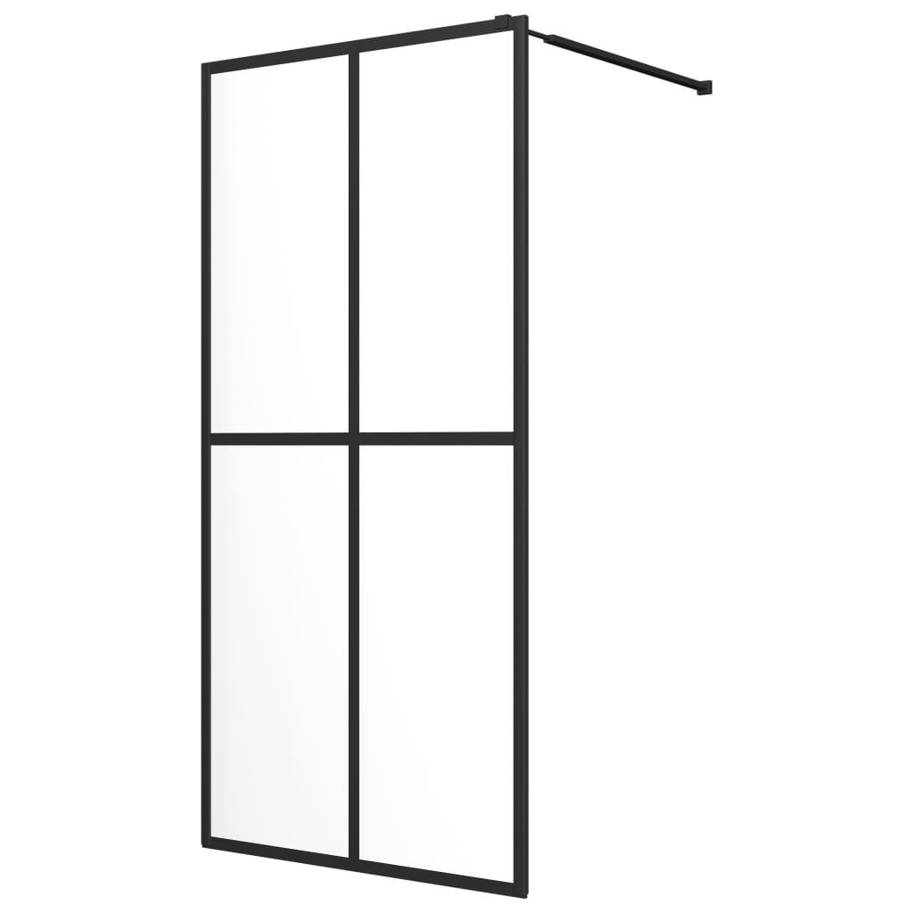 Walk-in Shower Screen Tempered Glass 39.4inchx76.8inch